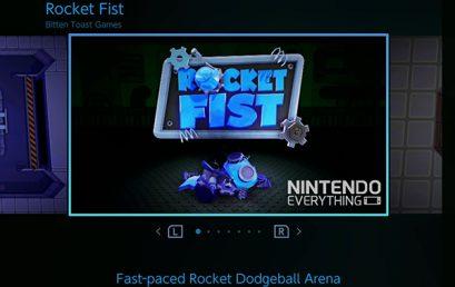Nintendo Switch recebe o seu primeiro jogo brasileiro: Rocket Fist