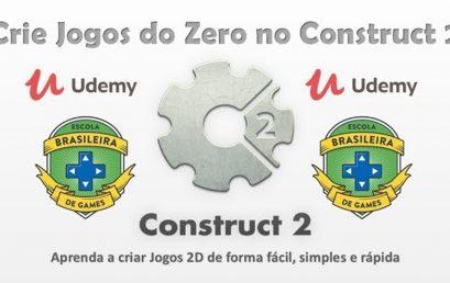 Crie Jogos do Zero no Construct 2!