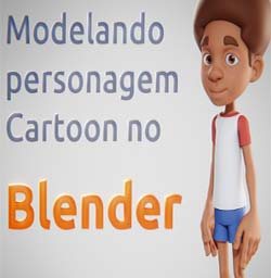 Modelando Personagem Cartoon no Blender