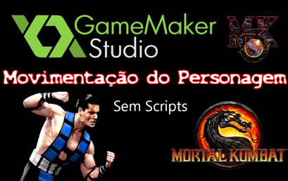 Mortal Kombat – Movimentação do Personagem Sub-Zero no GameMaker