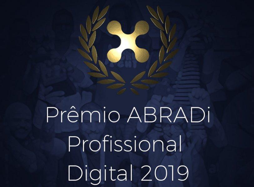 Prêmio ABRADi Profissional Digital 2019