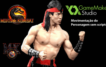 Mortal Kombat – Movimentação do Personagem Liu Kang no GameMaker