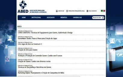 Os cursos da EBG estão disponíveis no site da ABED