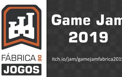 Participe da Game Jam Fábrica de Jogos 2019