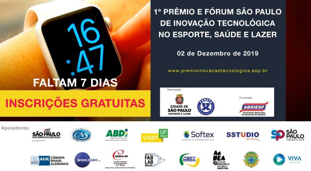 Câmara Brasil Alemanha estará presente no Prêmio São Paulo de Inovação Tecnológica