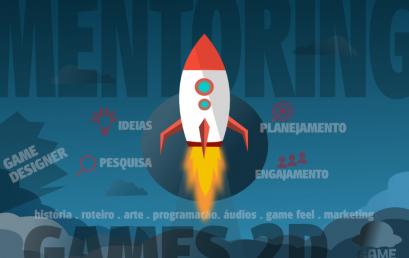 GameTeachers lança Mentoria GRATUITA para desenvolvedores de jogos
