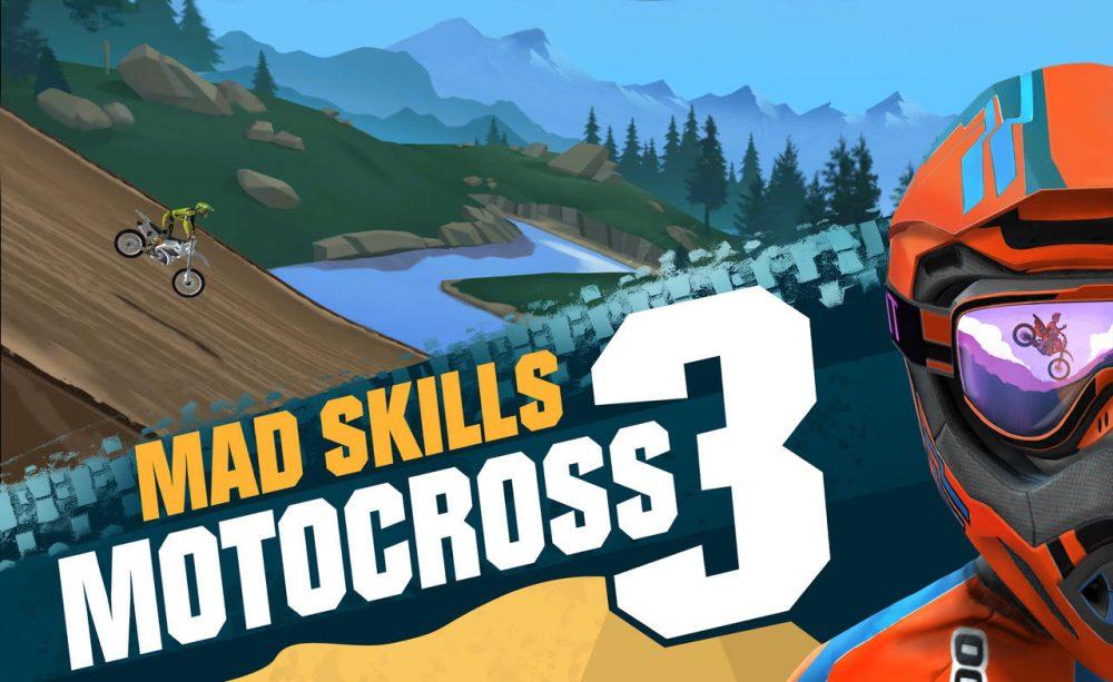 """""""Mad Skills Motocross 3"""" é lançado globalmente para dispositivos móveis"""