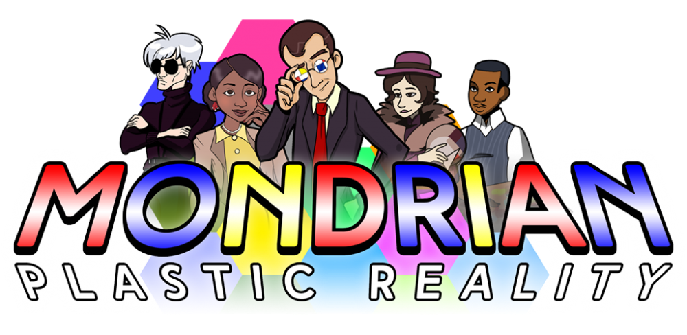 Mondrian Plastic Reality: Misture arte e videogames em uma experiência colorida e alucinante