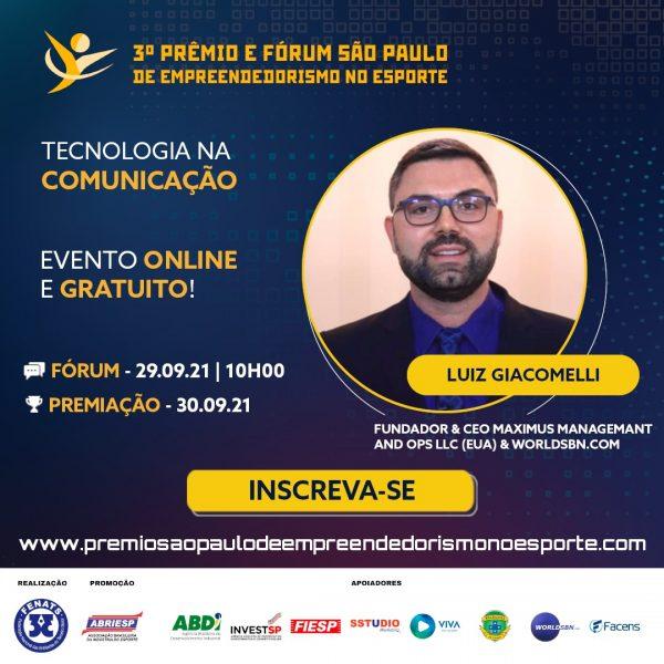Escola-Brasileira-de-Games-3º Prêmio e Fórum São Paulo de Empreendedorismo no Esporte - Luiz Giacomelli