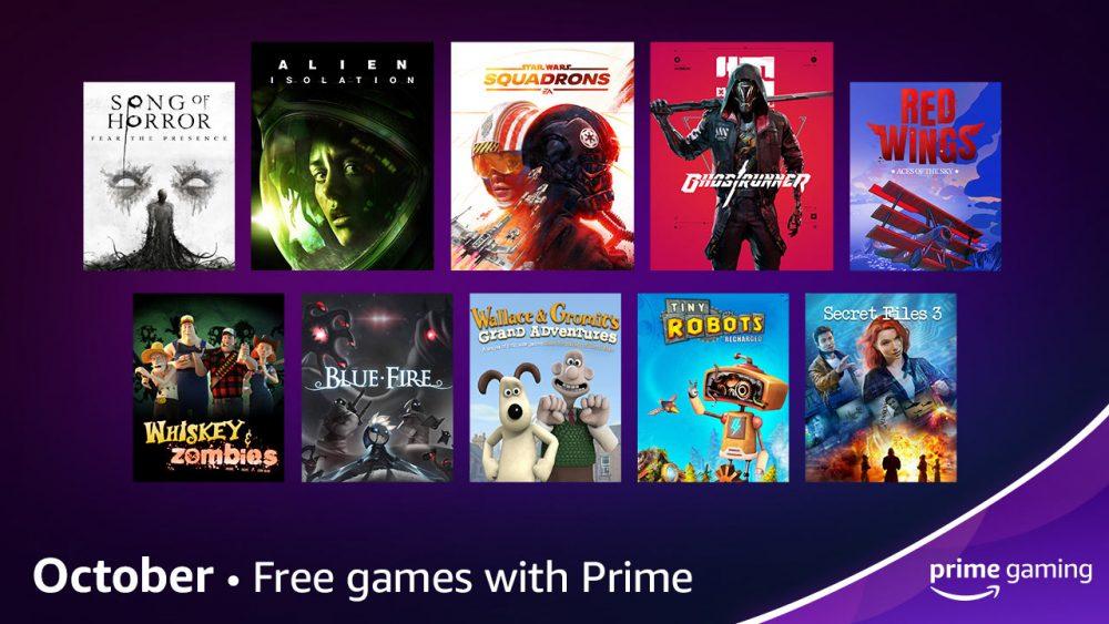 Prime Gaming Revela as Ofertas para Outubro de 2021